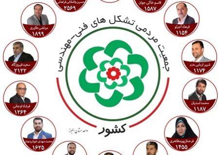 لیست مورد حمایت تشکلهای فنی-مهندسی برای انتخابات شورای شهر البرز منتشر شد