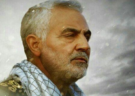 عکس/ تصویر دیده نشده از حاجقاسم سلیمانی بعد از شرکت در انتخابات ۹۶